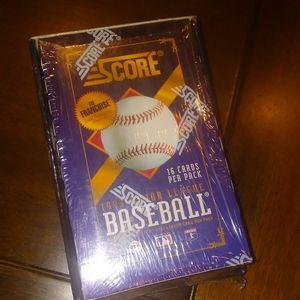 1993 Score Baseball Cards Double Box PLUS